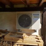 Klimagerät in der Garage